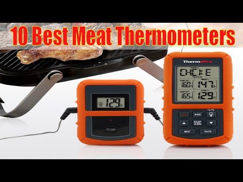 10 Best Meat Thermometers 2017 | Best Meat Thermometer to Buy #BestMeatThermometers