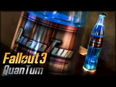 Nuka Cola Quantum // Fallout 3 // Props Travel Kit Tutorial