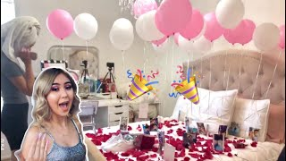 My Boyfriend Surprised Me For My Birthday!!