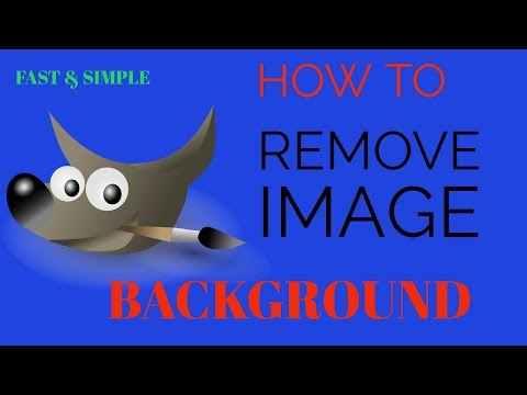Easy and Fast : GIMP tutorials photo editing  Background Removal __ Gimp- change background color