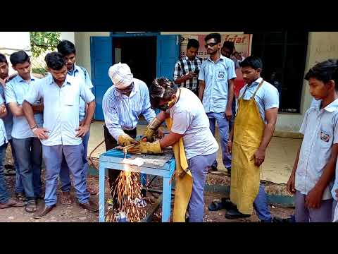 The gas cutting of old Iti welder let's do it