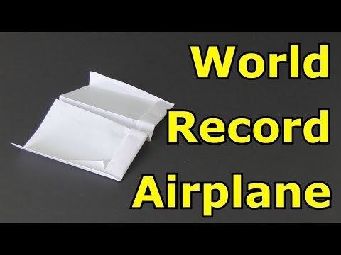 How to Make the Longest Flying Paper Airplane in the World