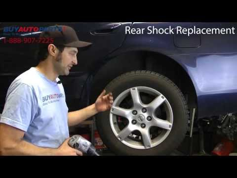 How To Replace Rear Shocks - BuyAutoParts.com