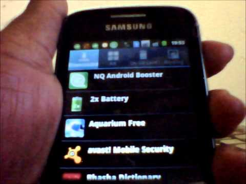 How to Uninstall Android apps from your Samsung Galaxy Y duos