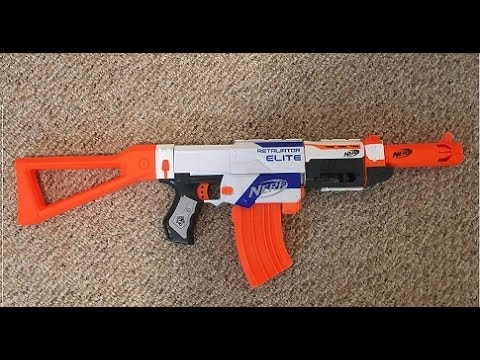 How to make a nerf ak47