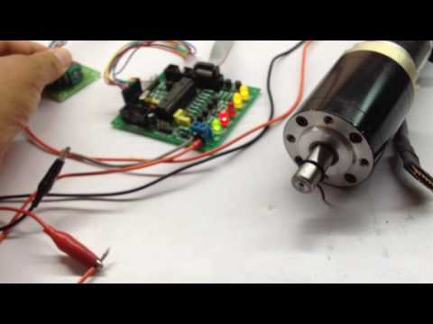 Dual DC motor driver with Joystick, ideal for wheel chair