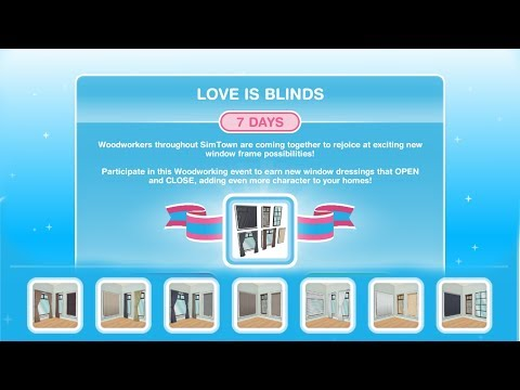 Simsfreeplay - Love is Blinds (Hobby Event Prizes)