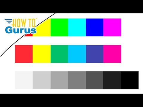 Photoshop Elements Basics Tutorial : Make a Color Chart for Color Correction in 2018 15 14 13 12 11