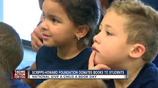 ABC Action News donating thousands of books to preschool kids