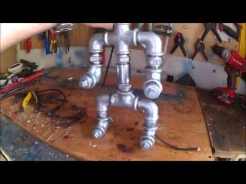 DIY Robot Lamp | ParisGK