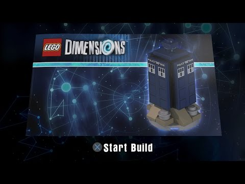LEGO Dimensions - Tardis Building Instructions - Doctor Who Level Pack 71204
