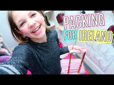 Shopping and Packing Vlog for an International Trip