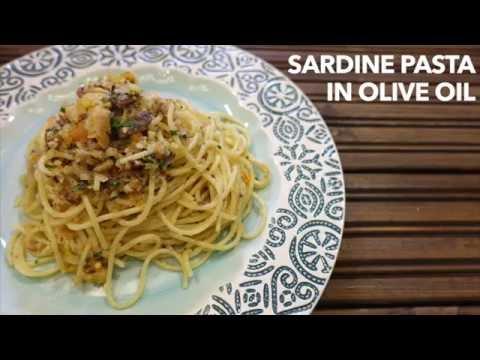 Sardine Pasta in Olive Oil