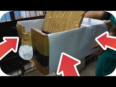 How To Make DIY Smartphone Projector Quickly !