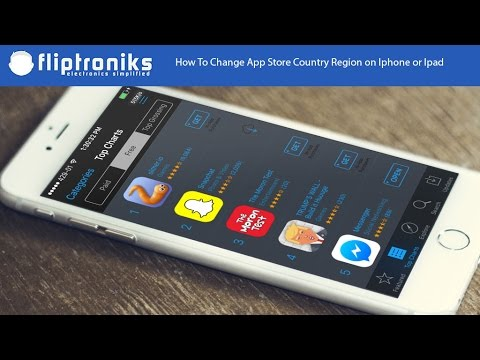 How To Change App Store Country Region on Iphone or Ipad - Fliptroniks.com