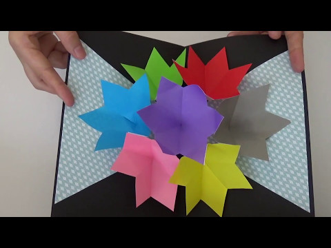 D.I.Y. MOTHER'S DAY HANDMADE FLOWER POP-UP CARD