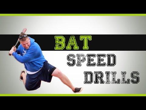 Baseball Bat Speed Drills