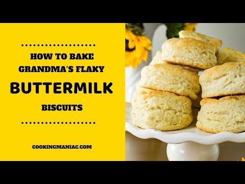 Grandmas Flaky Buttermilk Biscuit
