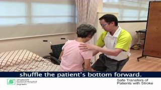 Transfer Techniques For Patients With Stroke (Part 2: Moderate Assistance Transfer)