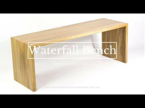 Making a Beautiful Waterfall Bench Seat