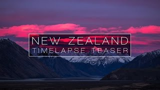 NEW ZEALAND - TIMELAPSE TEASER