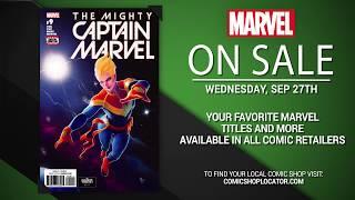 Marvel NOW! Titles for September 27th