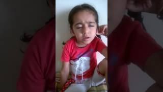 Rutva - cutest story (Lion & mouse) - Fir kya hua pata hai 😂