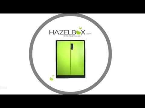 Hazelbox - Die Growbox aus Metall
