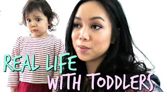 REAL Life with Toddlers! - January 01, 2017 - ItsJudysLife Vlogs