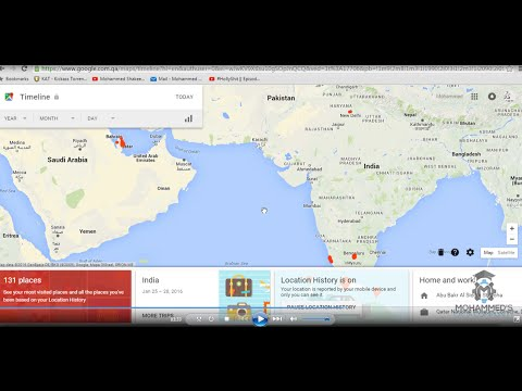 Google phone location tracking and Location history/timeline