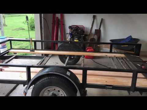 Trailer wood repair