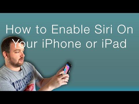 How to Turn Siri On Your iPhone or iPad