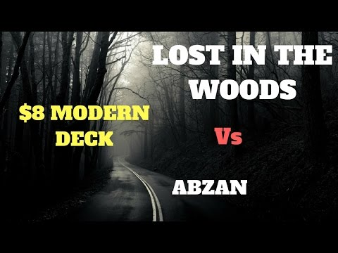 MTG - Modern - Lost in the Woods Vs Abzan - Magic the Gathering