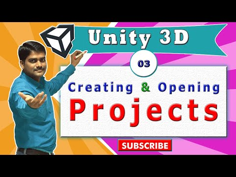 Unity Essentials Tutorial 03 - Creating & Opening Projects in Unity
