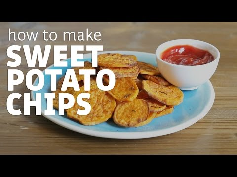 Homemade Sweet Potato Chips (YUMMY!)