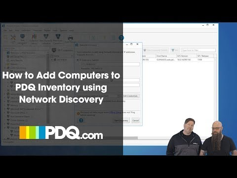 How to Add Computers to PDQ Inventory Using Network Discovery