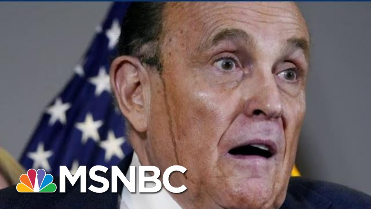 'Meltdown': As Rudy Giuliani Flails In Court, Trump Hides In WH | The Beat With Ari Melber | MSNBC