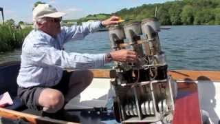Andrew Hall's Stirling Engine Boat