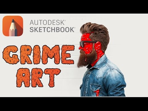 Autodesk SketchBook - Grime Art Tutorial