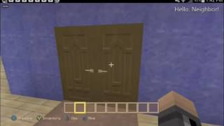 Hello Neighbor in Minecraft Xbox One | Daikhlo