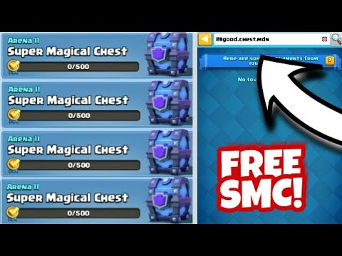 SECRET CODE TO GET FREE SUPER MAGICAL CHEST IN CLASH ROYALE QUEST | CLASH ROYALE SMC QUEST TRICK
