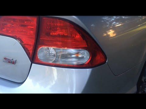 Replacing a Side Brake Light / Bulb on an 8th Generation Honda Civic - 2010 Honda Civic SI