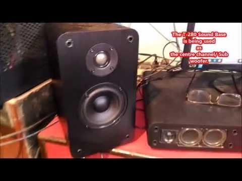 F&D ( FENDA ) T280 TV Sound Base and R30BT SOUND TEST