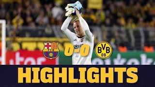 HIGHLIGHTS   Borussia Dortmund 0-0 Barça