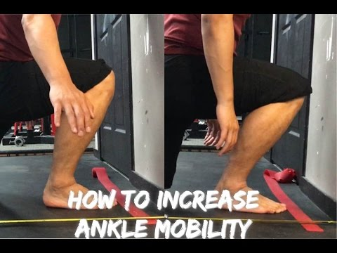 How to increase Ankle Mobility ( increase dorsiflexion)