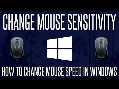 How to Change Mouse Speed/Sensitivity in Windows 7, 8, 8.1 or 10