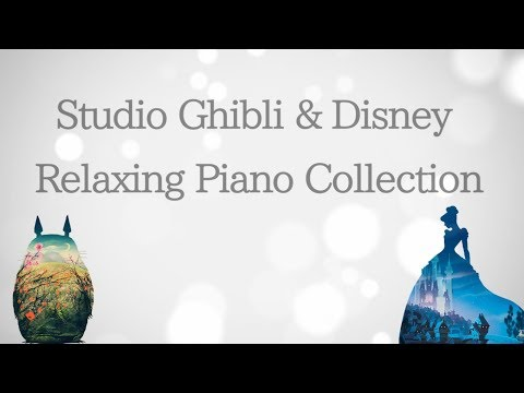 Studio Ghibli & Disney Piano Collection for Studying and Sleeping