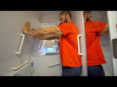 Sampling Perfume On A Plane