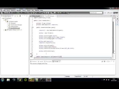 How to Make a 2D Game Engine Java Episode #01