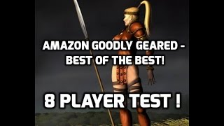 Diablo 2 How Good Is The Javazon On 8 Players Test With GG Gear